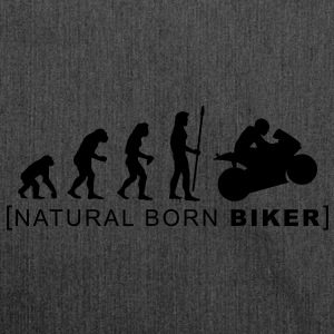 natural born biker - Shoulder Bag made from recycled material