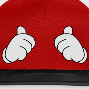 thumbs up - Snapback Cap