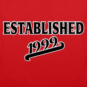 Established 1999 Tee shirts - Tote Bag