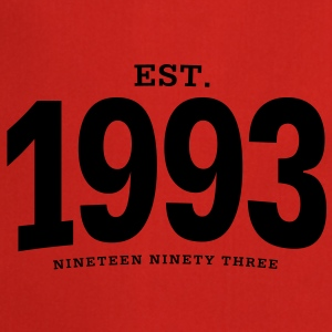 est. 1993 Nineteen Ninety Three - Cooking Apron