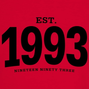 est. 1993 Nineteen Ninety Three - Men's Ringer Shirt