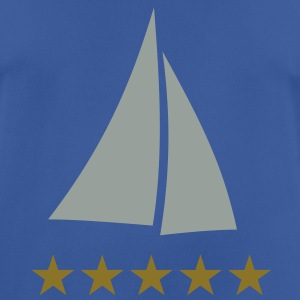sailing, sail boat yacht cruiser stars Hoodies & Sweatshirts - Men's Breathable T-Shirt