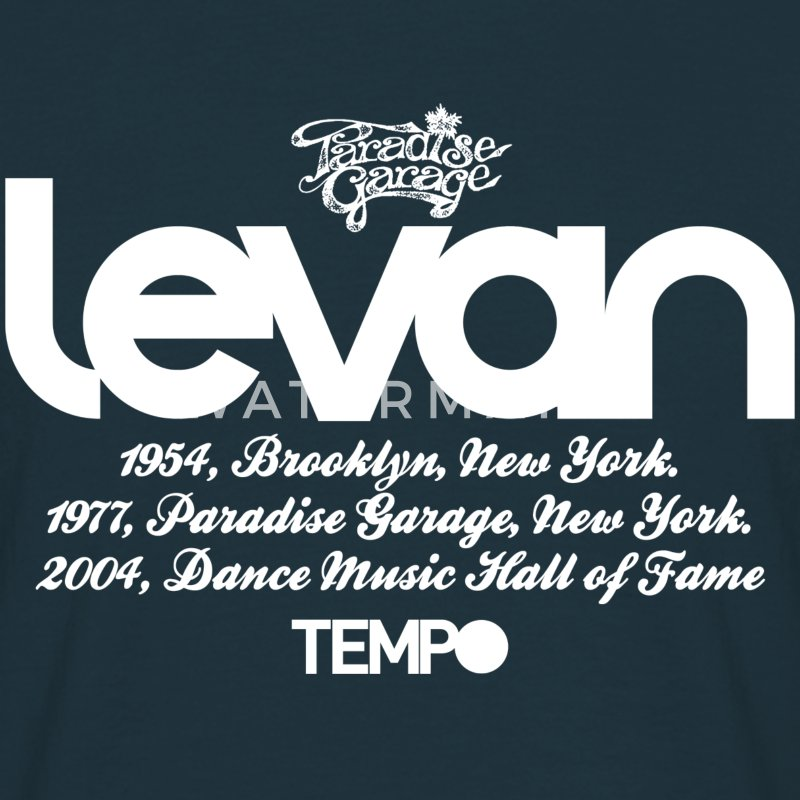 Levan Paradise Garage in White T-Shirts - Men's T-Shirt