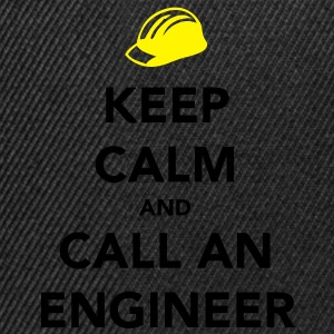Keep Calm Engineer - Snapback Cap