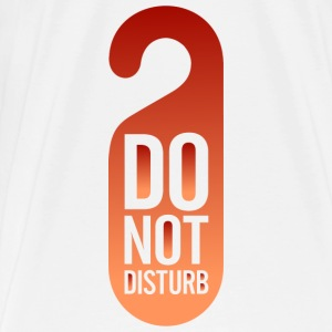 Do Not Disturb (dd)++ Gensere - Premium T-skjorte for menn