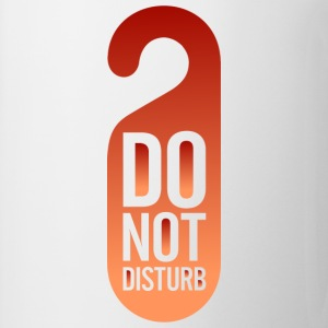 Do Not Disturb (dd)++ Magliette - Tazza