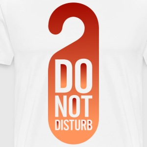 Do Not Disturb (dd)++ Bags  - Men's Premium T-Shirt