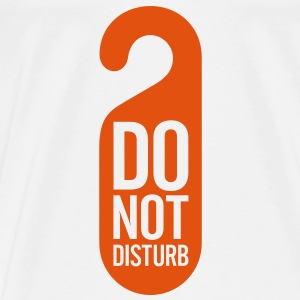 Do Not Disturb (1c)++ Gensere - Premium T-skjorte for menn