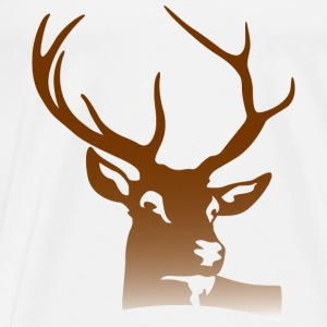 Deer Head (dd)++ Sweatshirts - Herre premium T-shirt