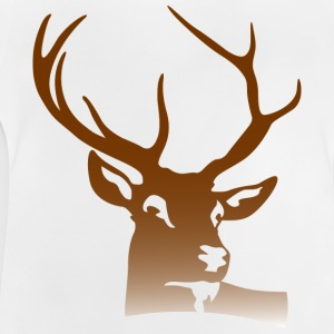 Deer Head (dd)++ Shirts - Baby T-shirt