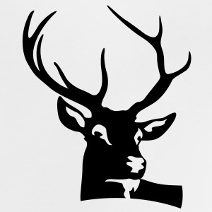 Deer Head (1c)++ Shirts - Baby T-shirt