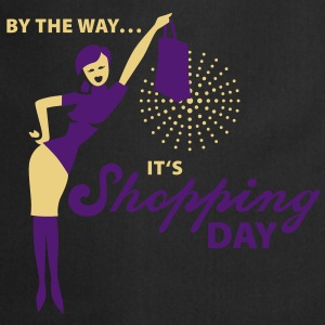 By the way ... it's shopping day! T-Shirts - Kochschürze