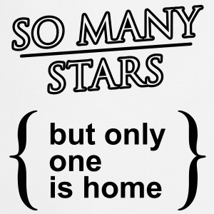 'So many stars..' Vrouwen T-shirt klassiek - Keukenschort