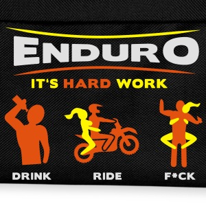 Enduro - It's hard work FlexShirt HQ - Kinder Rucksack