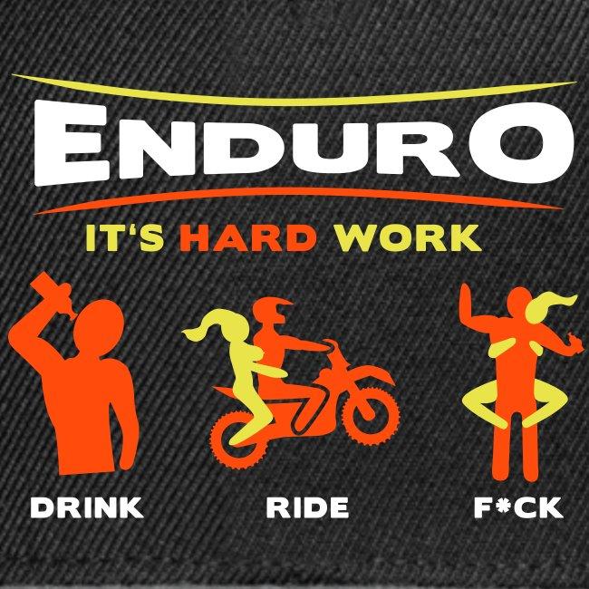 Enduro - It's hard work FlexShirt HQ