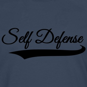 self defense - T-shirt manches longues Premium Homme