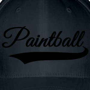 paintball T-shirts - Flexfit baseballcap