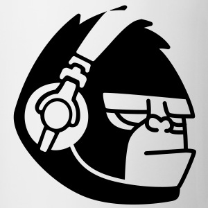Gorilla Headphones Music T-shirts - Mugg