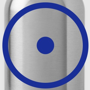 I AM - creator enabled - point in circle - vector - symbol of the creative universe, universal symbol I T-Shirts - Water Bottle