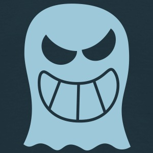 Naughty Halloween Ghost Caps & Hats - Men's T-Shirt