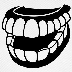 Teeth (1c)++ Shirts - Baseball Cap