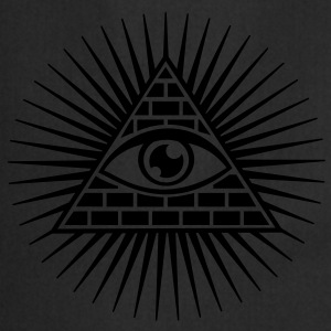 all seeing eye -  eye of god / pyramid - symbol of Omniscience & Supreme Being Sweat-shirts - Tablier de cuisine