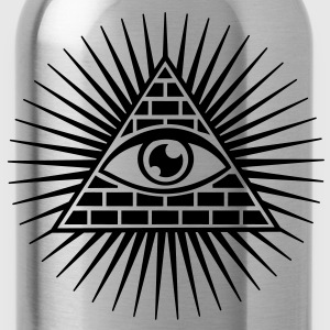 all seeing eye -  eye of god / pyramid - symbol of Omniscience & Supreme Being Sweat-shirts - Gourde