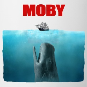 Moby dick Jaws poster - Kubek