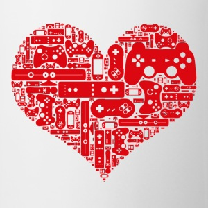 Gamer heart - Mugg
