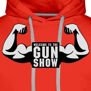 Welcome To The Gun Show T-Shirts - Men's Premium Hoodie