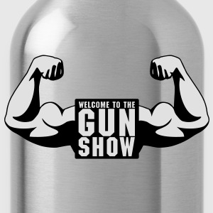 Welcome To The Gun Show T-Shirts - Water Bottle
