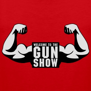 Welcome To The Gun Show T-Shirts - Men's Premium Tank Top