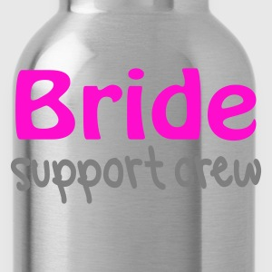 Black Bride Support Crew Jumpers  - Water Bottle