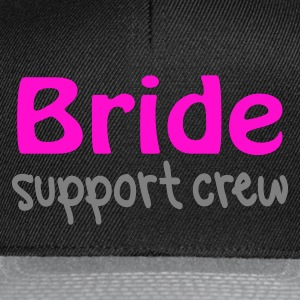 Black Bride Support Crew Jumpers  - Snapback Cap