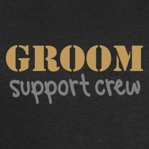 Black Groom Support Crew Men's Tees - Men's Sweatshirt by Stanley & Stella