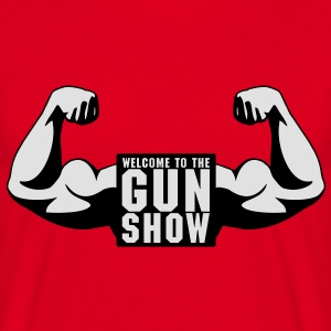 Welcome To The Gun Show Sweatshirts - Herre-T-shirt