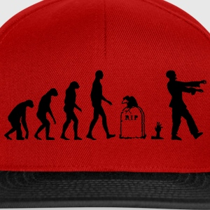 Evolution Zombie - Halloween T-shirts - Snapback cap