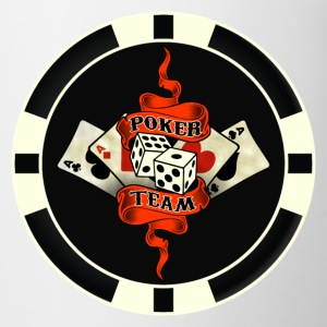 poker team design 9 Tee shirts manches longues - Tasse