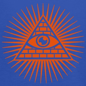 all seeing eye -  eye of god / pyramid - symbol of Omniscience & Supreme Being T-shirts - Vrouwen tank top van Bella