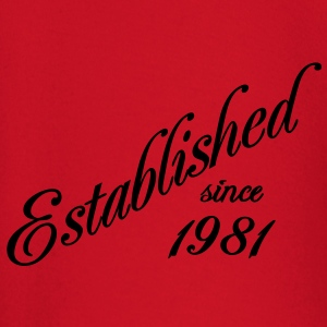 Established since 1981 T-shirts - T-shirt