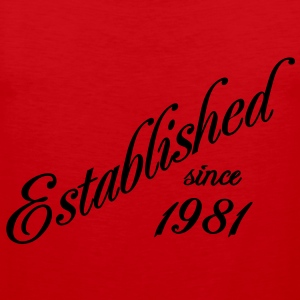 Established since 1981 T-shirts - Premiumtanktopp herr