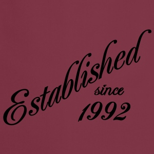 Established since 1992 Tee shirts - Tablier de cuisine