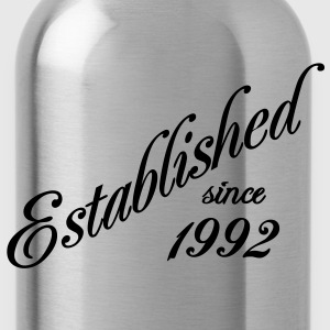 Established since 1992 T-shirts - Drinkfles