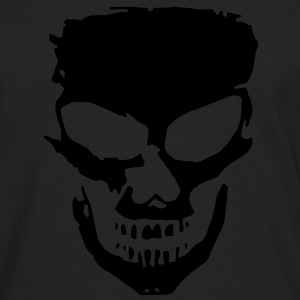 angry skull - T-shirt manches longues Premium Homme