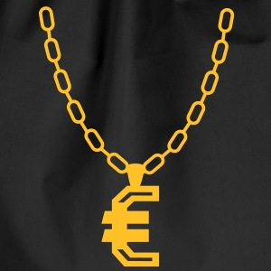 Euro necklace T-Shirts - Drawstring Bag
