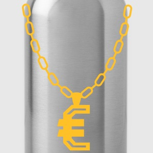 Euro necklace T-Shirts - Water Bottle