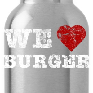 we_love_burger_vintage_hell Tröjor - Vattenflaska