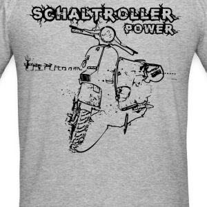 Schaltroller Power Pullover & Hoodies - Männer Slim Fit T-Shirt