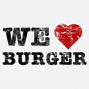 we_love_burger_vintage Poloshirts - Männer Premium T-Shirt
