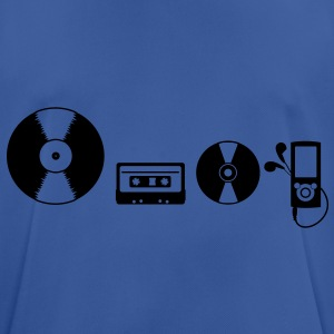 Music Evolution Hoodies & Sweatshirts - Men's Breathable T-Shirt